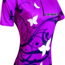 camisa butterfly lilas